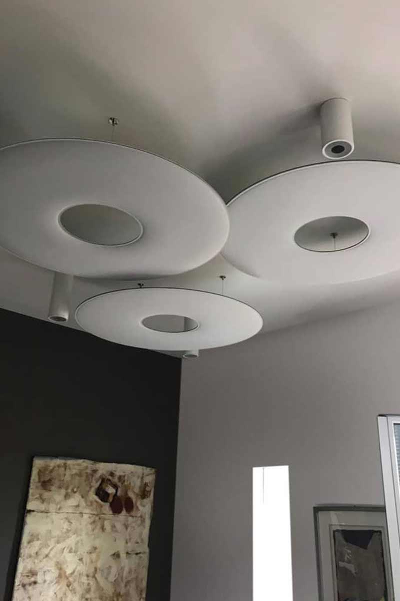 Pannelli fonoassorbenti Comtec installazione