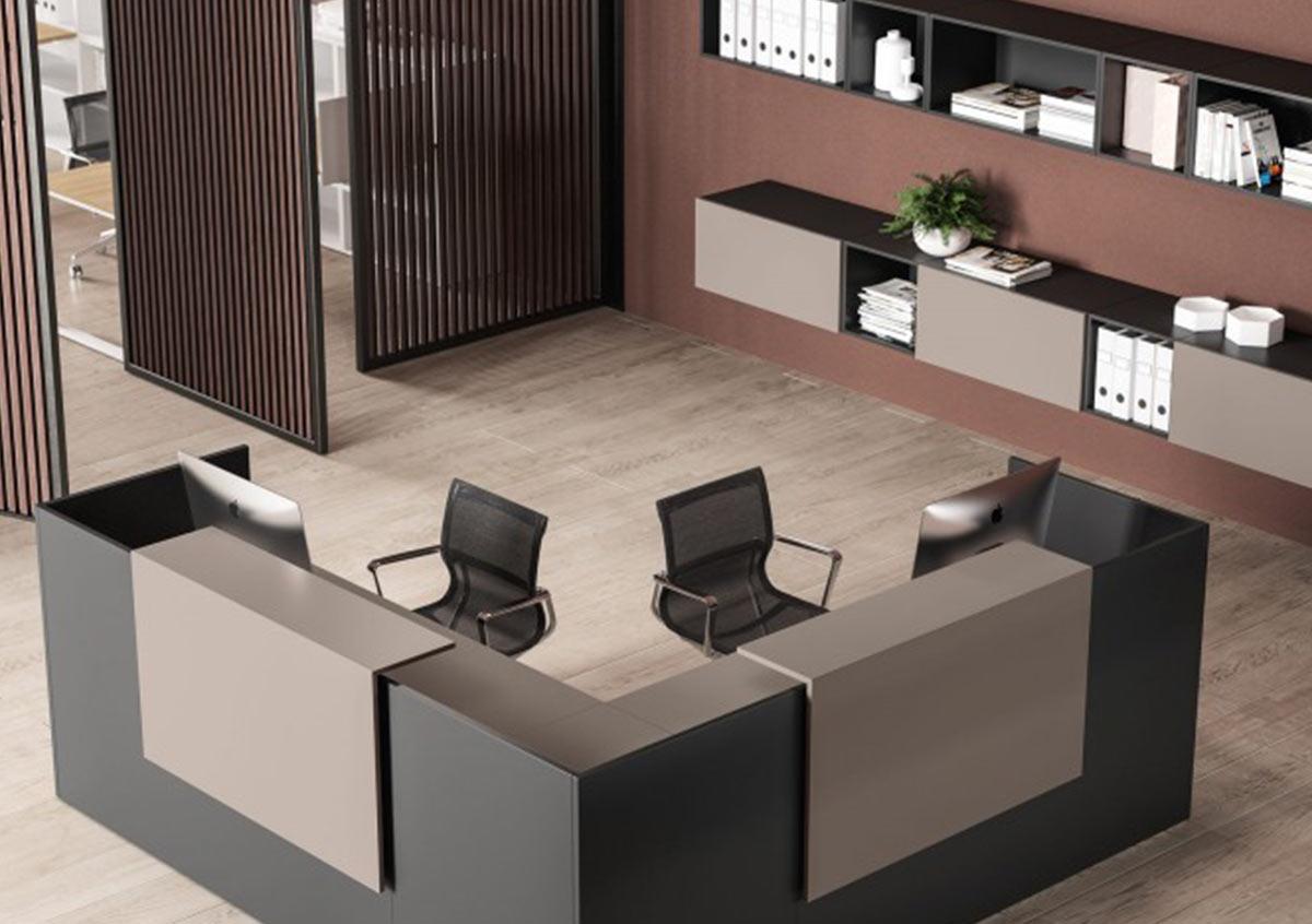 Progettazione Reception per uffici e agenzie Comtec s.r.l. Via Dalmazia 51 20100 Varese