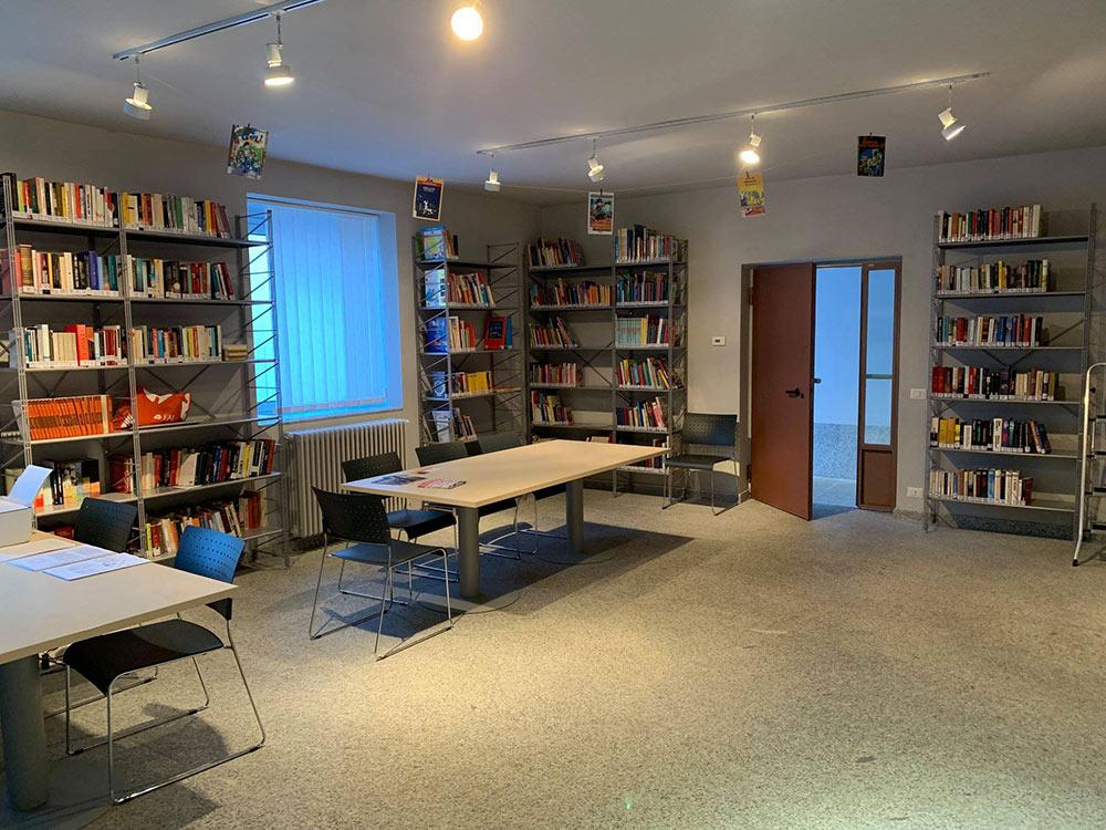 Realizzazione Biblioteca comunale - Comtec s.r.l. Via Dalmazia 51 20100 Varese