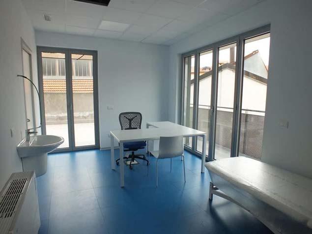 Realizzazione d'arredo Comtec per Campus medico Poliambulatoriale